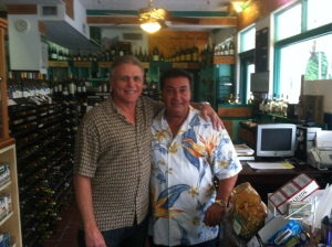 Joe and Vinnie Brothers and Owners of Scotti's Fine Wine and Liquors