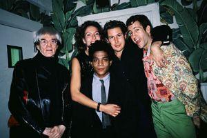 538491-Warhol-Schnabels-Jean-Michel-Basquiat-Kenny_Scharf-NY-1984
